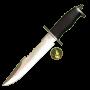 Klassisk jaktkniv i rustfritt stål (33,8)