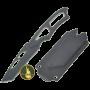 Sentinel tanto kniv med fløyteslire (17,5)