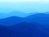 Blå fjell