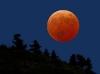 Fullmåne rød